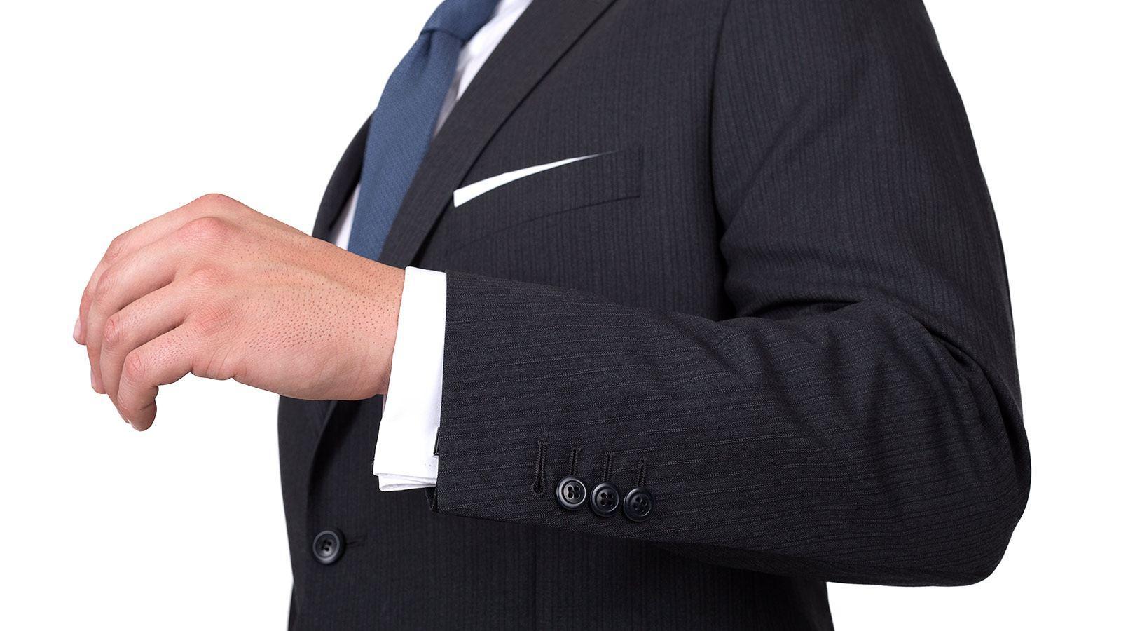 Premium Grey Track Stripe Suit - slider image 1