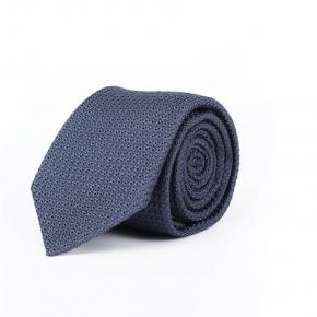 Airforce Blue Italian 100% Grenadine Silk Tie - thumbnail image 1