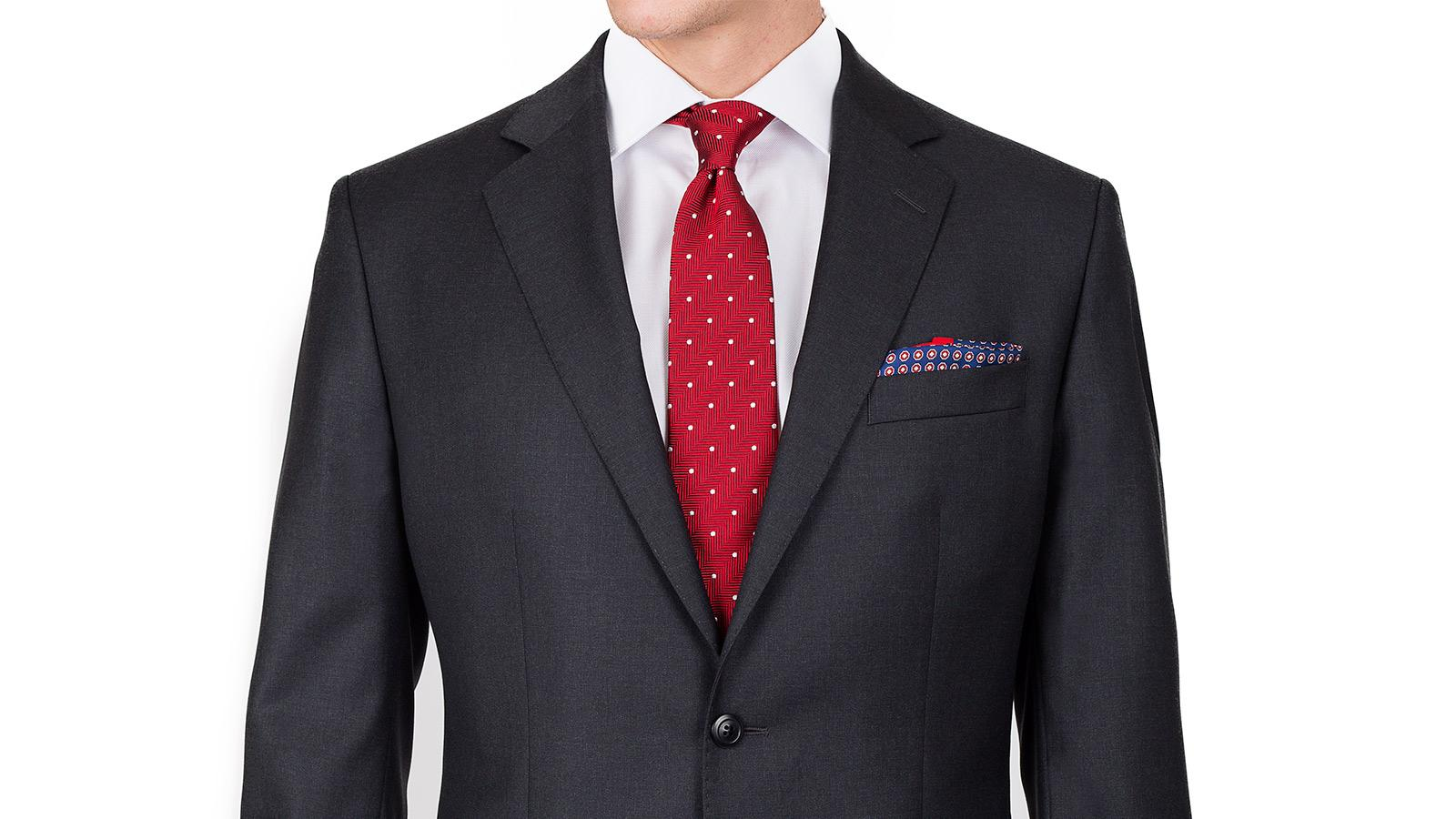 Premium Charcoal Suit - slider image 1