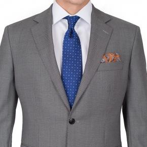 Premium Grey Birdseye Suit - thumbnail image 2