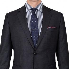 Premium Charcoal Plaid Suit - thumbnail image 2