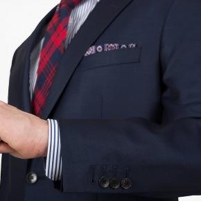 Solid Light Navy Suit - thumbnail image 1
