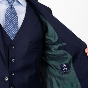 Solid Deep Blue Suit - thumbnail image 2