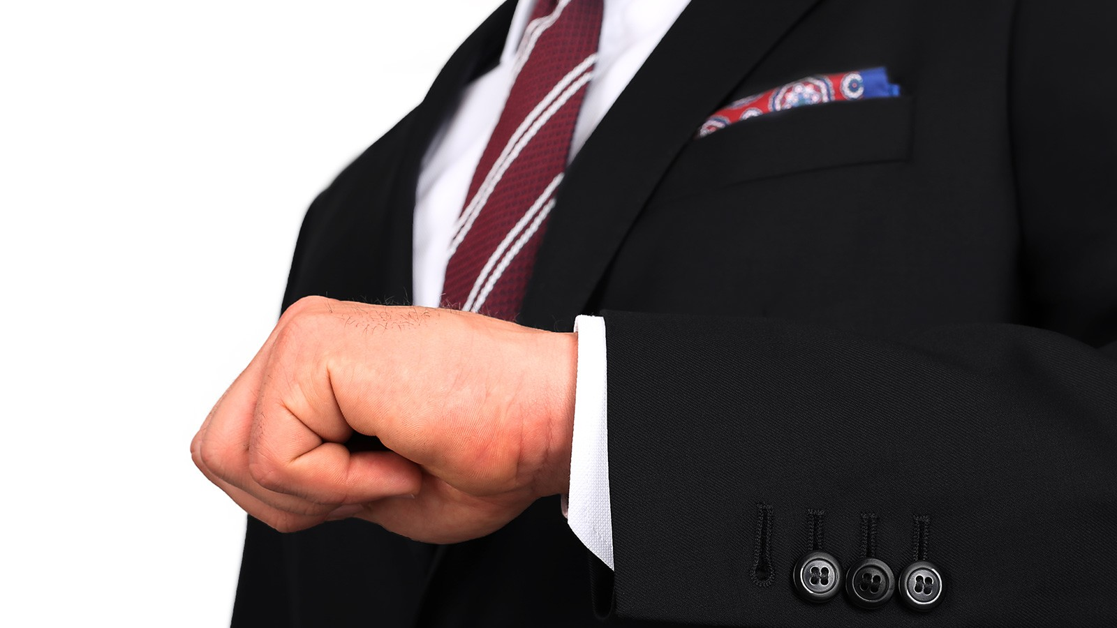 Premium Black Suit - slider image 1