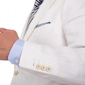 Off-White Linen Suit - thumbnail image 1