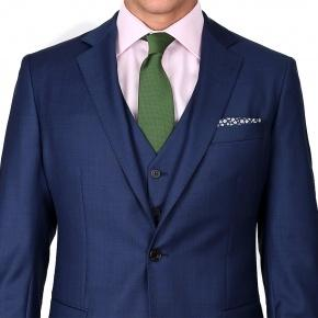 Intense Blue Pick & Pick 3 Piece Suit - thumbnail image 2