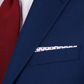 Hopsack Blue Suit - thumbnail image 2
