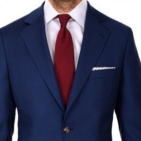 Hopsack Blue Suit - thumbnail image 3