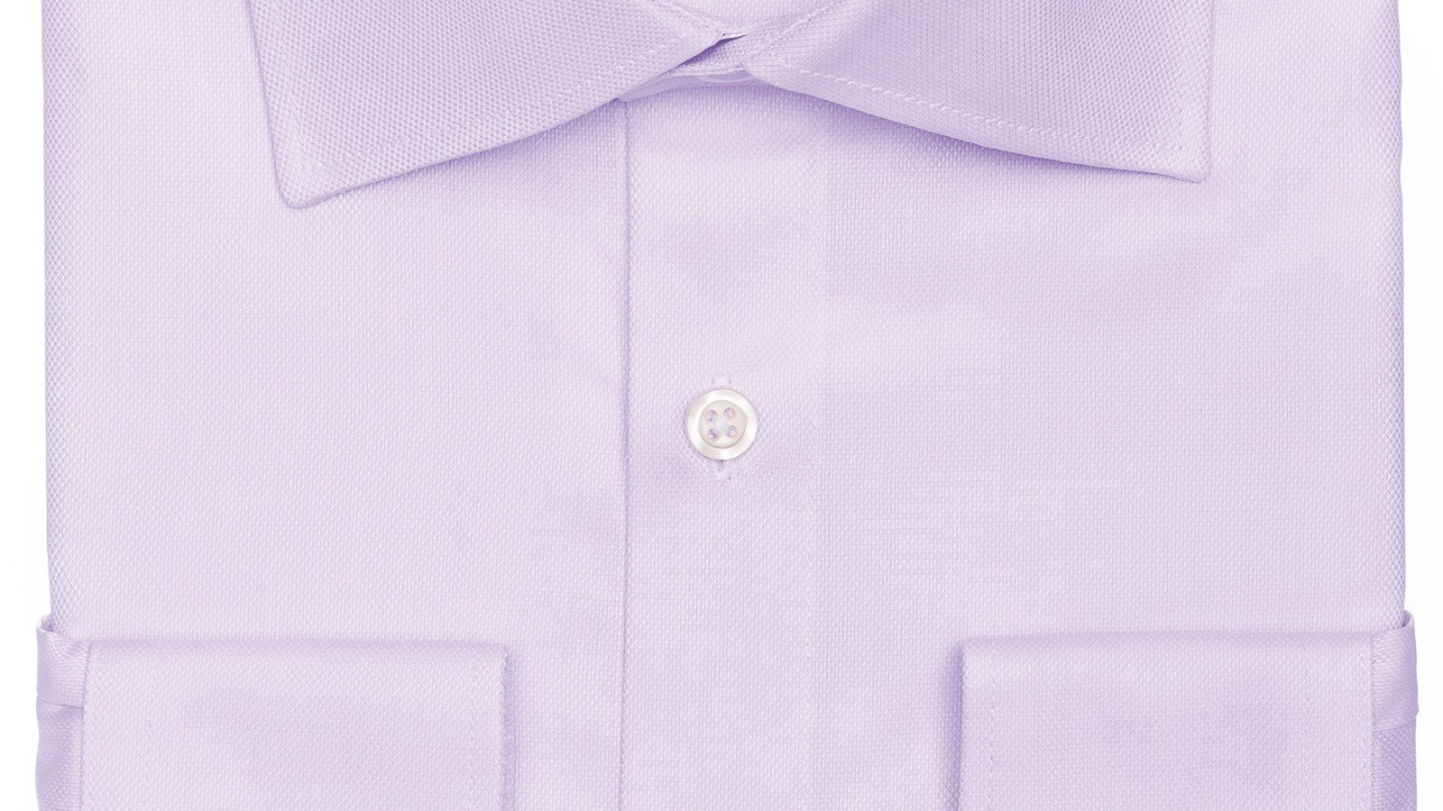 Lavender Two-Ply Cotton Royal Oxford Shirt - slider image