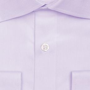 Lavender Two-Ply Cotton Royal Oxford Shirt - thumbnail image 1