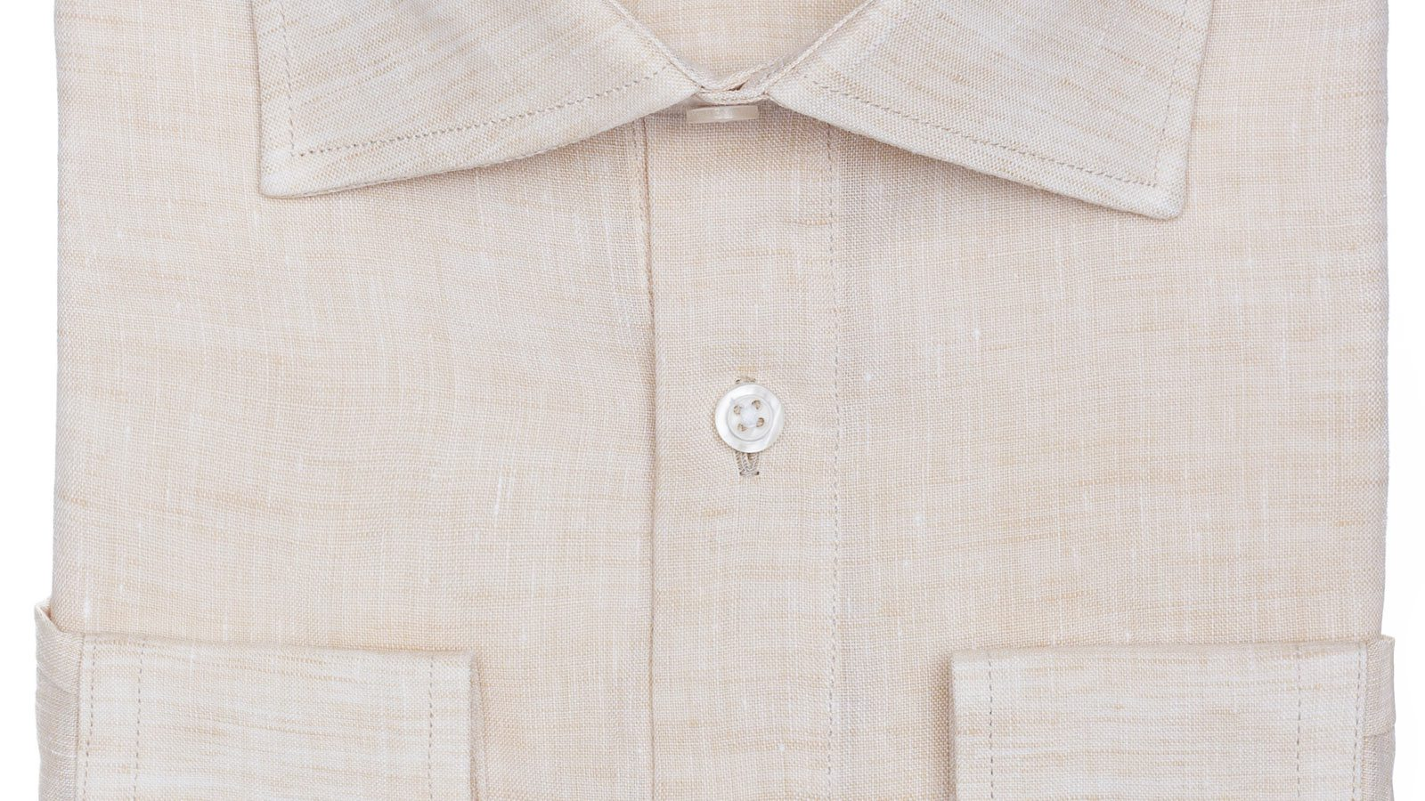 Natural Linen Shirt - slider image