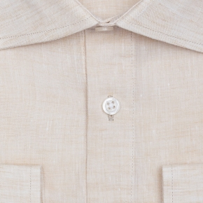 Natural Linen Shirt - thumbnail image 1