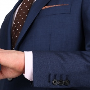 Intense Blue Pick & Pick Suit - thumbnail image 1