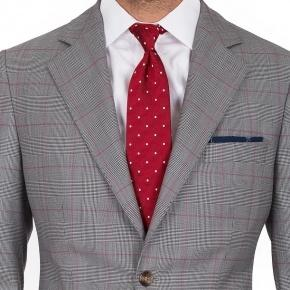 Vendetta Premium Grey & Red Plaid Suit - thumbnail image 2