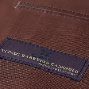 Premium Coffee Brown Wool & Silk Suit - thumbnail image 3