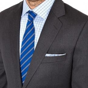 Suit in Solid Grey Wool - thumbnail image 2