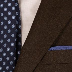 Brown Wool Flannel Suit - thumbnail image 1