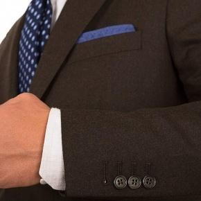Brown Wool Flannel Suit - thumbnail image 2