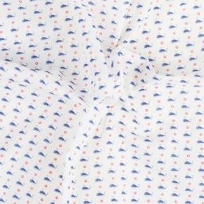 Whales Pattern Cotton Pocket Square - thumbnail image 1