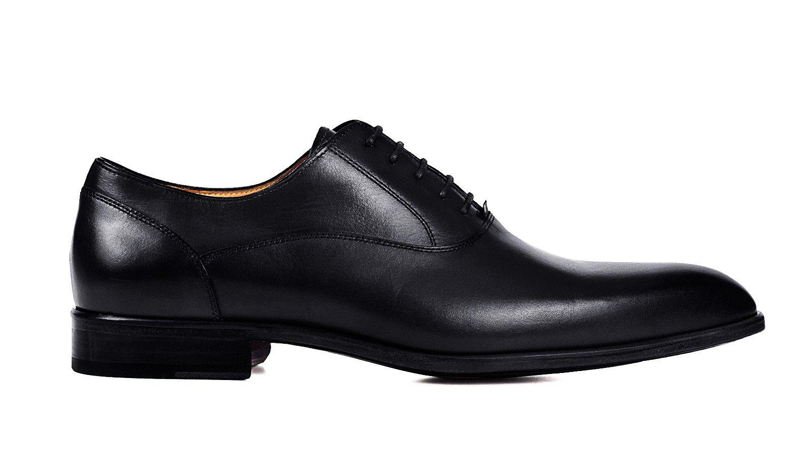 Black Plain-Toe Oxford - slider image 1