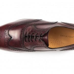 Burgundy Wingtip Oxford - thumbnail image 1