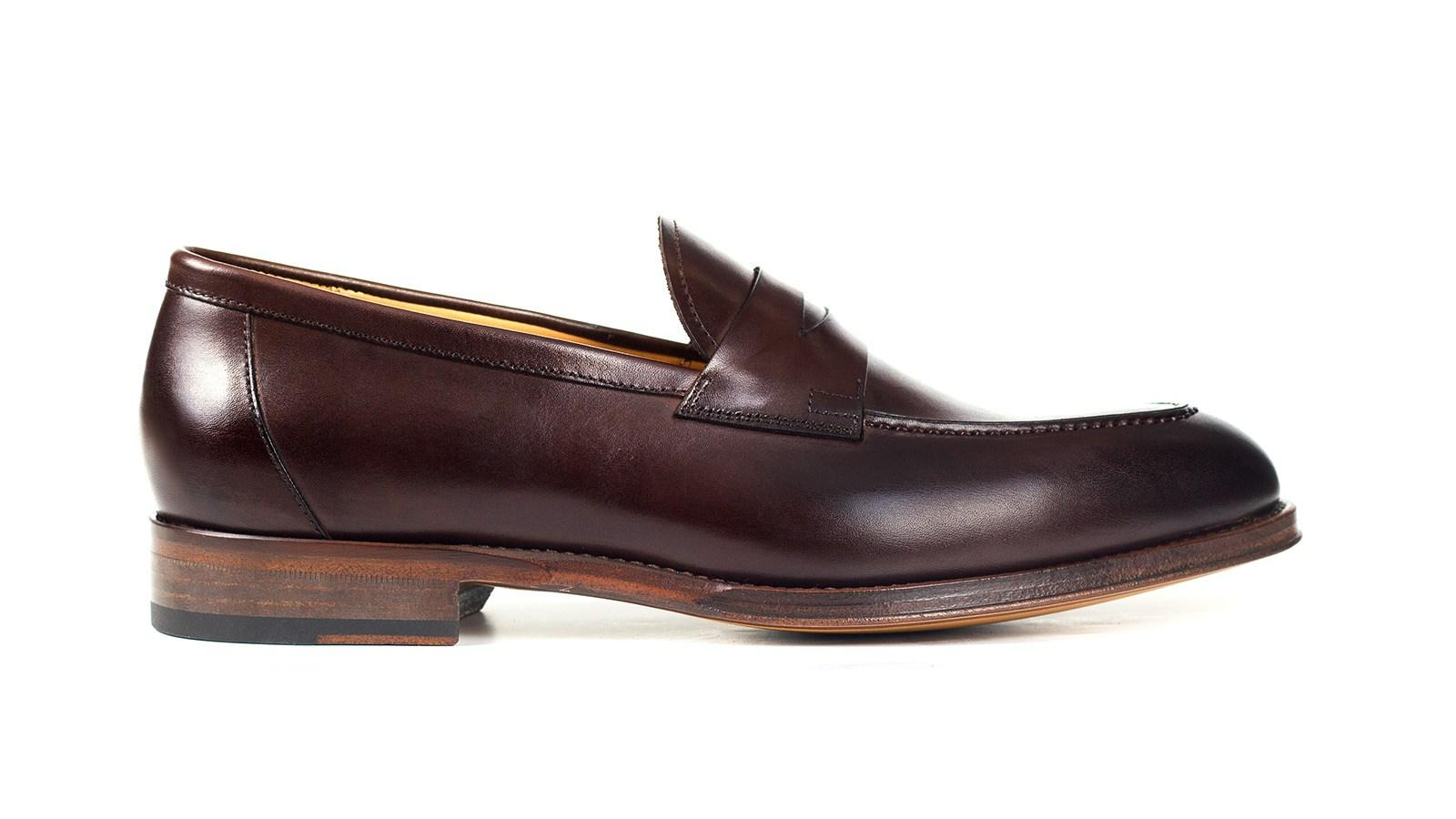 Dark Brown Penny Loafer - slider image 1