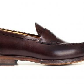 Dark Brown Penny Loafer - thumbnail image 1