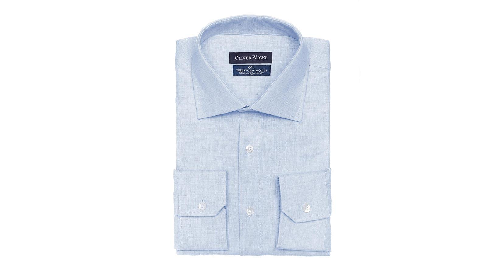 Light Blue Flannel Shirt - slider image
