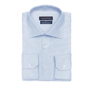 Light Blue Flannel Shirt - thumbnail image 1