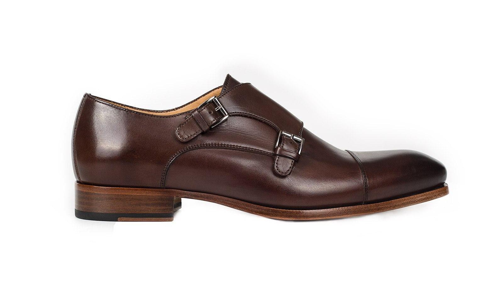 Dark Brown Double Monks - slider image 1