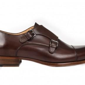 Dark Brown Double Monks - thumbnail image 1