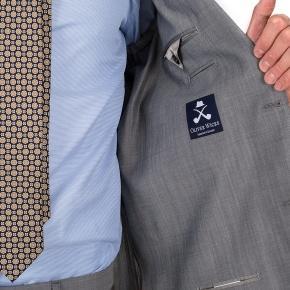 Light Grey Wool & Mohair Suit - thumbnail image 2