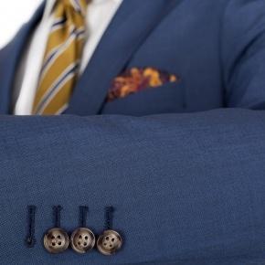 Sky Blue Wool & Mohair Suit - thumbnail image 1