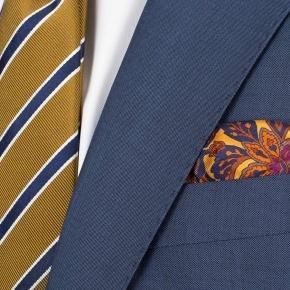 Sky Blue Wool & Mohair Suit - thumbnail image 2