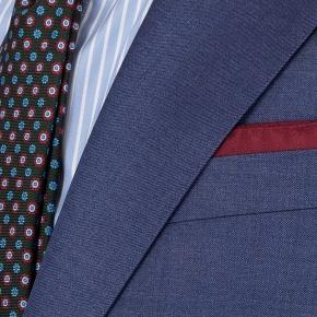 Sky Blue Natural Stretch Wool Suit - thumbnail image 2
