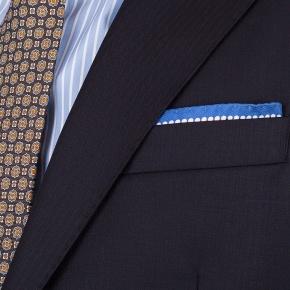 Suit in Dark Navy Wool - thumbnail image 2