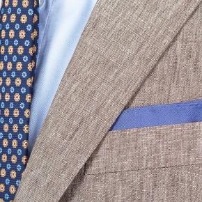 Khaki Linen Suit - thumbnail image 2