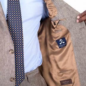 Khaki Linen Suit - thumbnail image 3