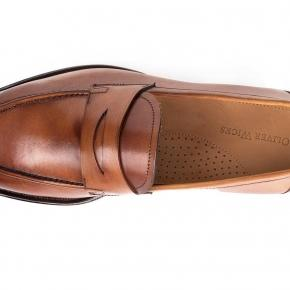 Cognac Penny Loafer - thumbnail image 1