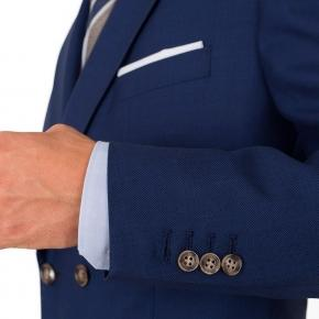Royal Blue Pick & Pick Suit - thumbnail image 1