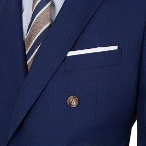 Royal Blue Pick & Pick Suit - thumbnail image 2