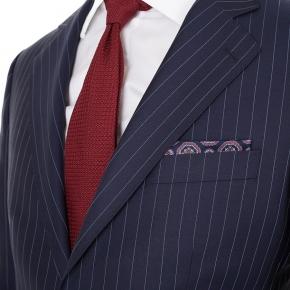 Navy Pinstripe Suit - thumbnail image 2