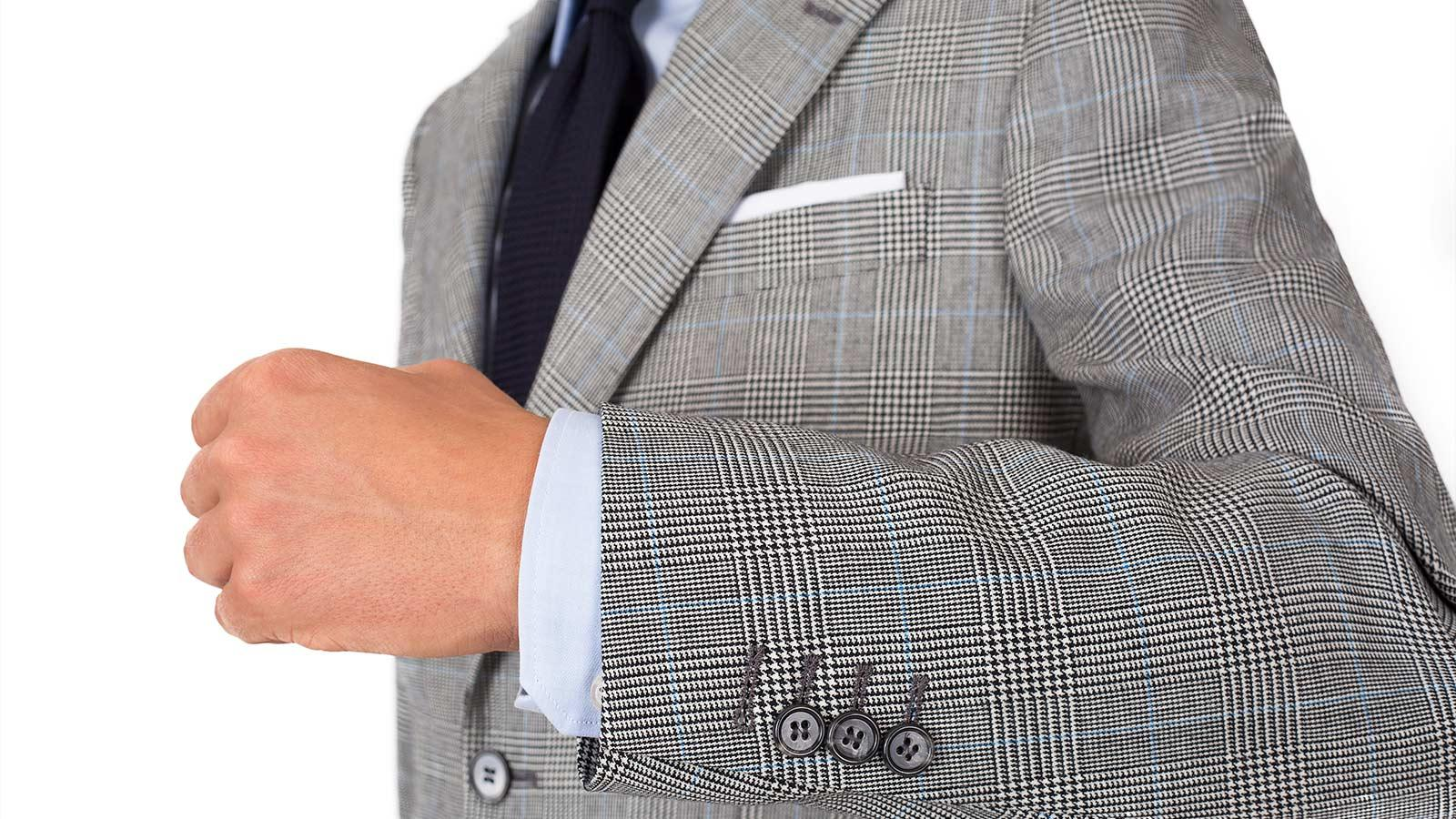 Grey Glen Plaid Suit - slider image 1