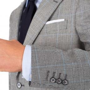 Grey Glen Plaid 3 Piece Suit - thumbnail image 1