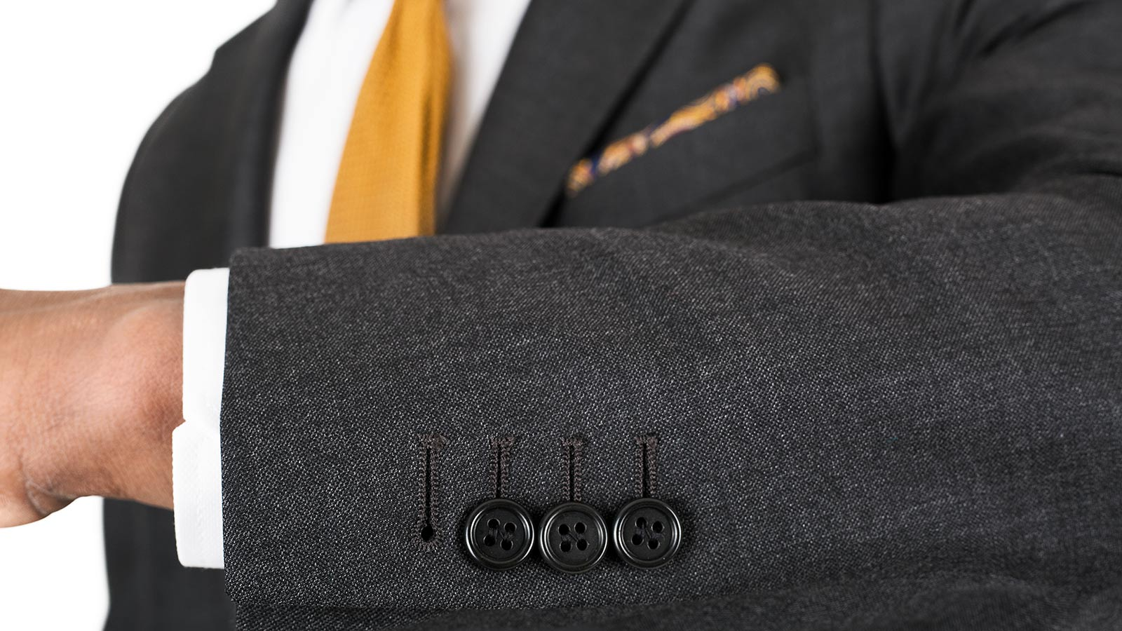 Charcoal Pick & Pick Suit - slider image 1