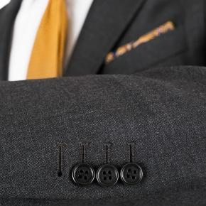 Suit in Charcoal Pick & Pick Wool - thumbnail image 1