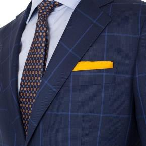 Vendetta Premium Blue Check Navy Plaid Suit - thumbnail image 2