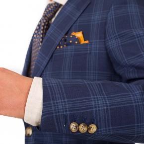 Blue Check Suit - thumbnail image 1