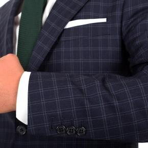 Navy Check Suit - thumbnail image 1