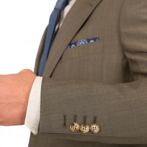 Light Brown Wool & Mohair Suit - thumbnail image 1